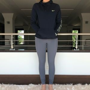 Rare Nike funnel neck fleece-lined hoodie
